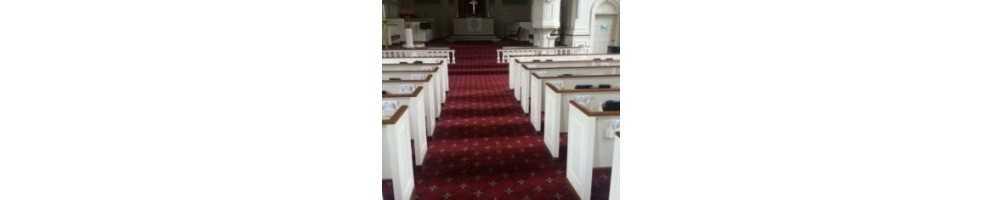 Mocheta biserici cu vultur bicefal trafic intens