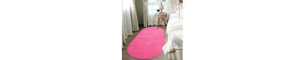 Covoare dormitor modele florale colorate tip shaggy
